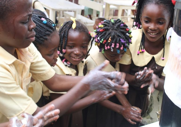 The Importance of Hand Washing; CAWI Visits the Cameroon Education Center