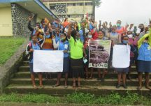 Pencil Case Project overjoys school girls