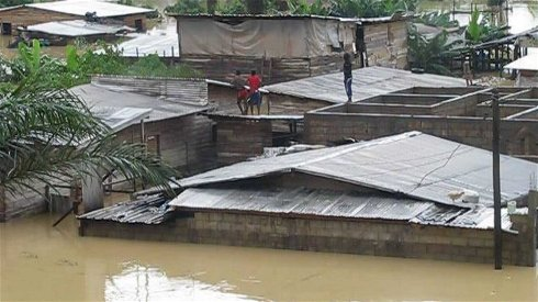 About five thousand People affected by Douala Floods